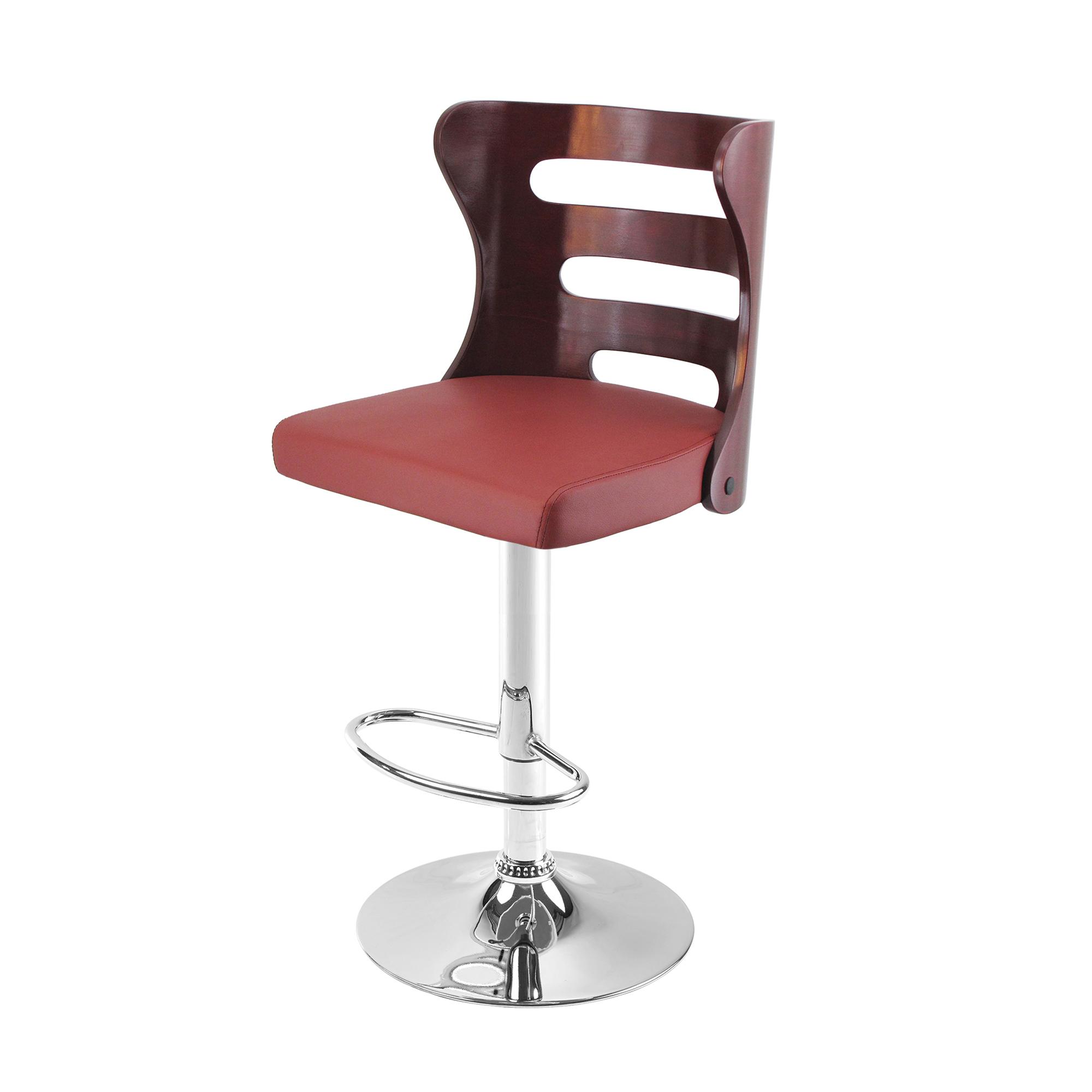 صندلی اپن طرح چوبی مدل BH390M رنگ ماهگونه