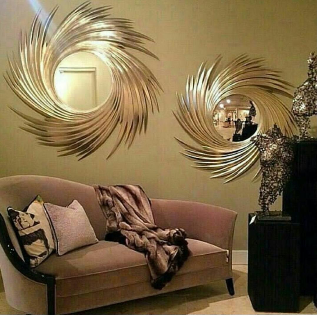 آینه دیواری خورشیدی