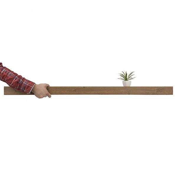 شلف (طبقه دیواری) مدل فشم 120 سانتی