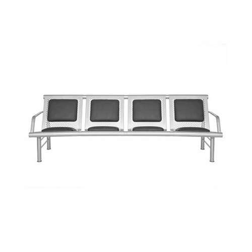 صندلی انتظار فلزی چهارنفره مدل 902