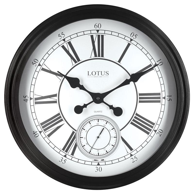 ساعت دیواری فلزی مدل STANFORD کد 16008
