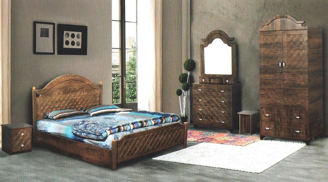 تخت خواب دونفره روژان