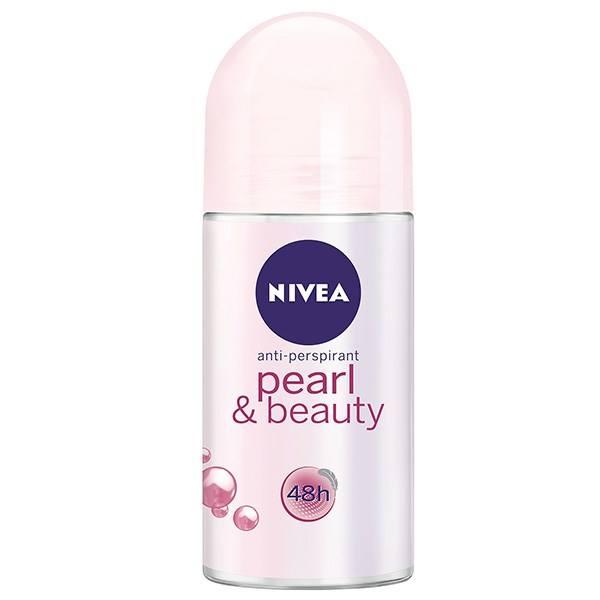 مام رول ضد تعریق زنانه نیوآ مدل Pearl And Beauty حجم 50 میل