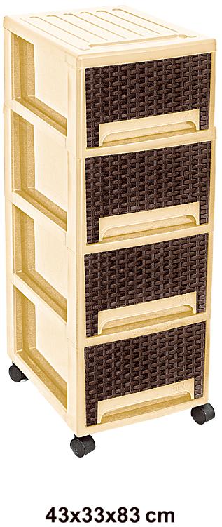 فایل چهار طبقه پلاستیکی مدل 504
