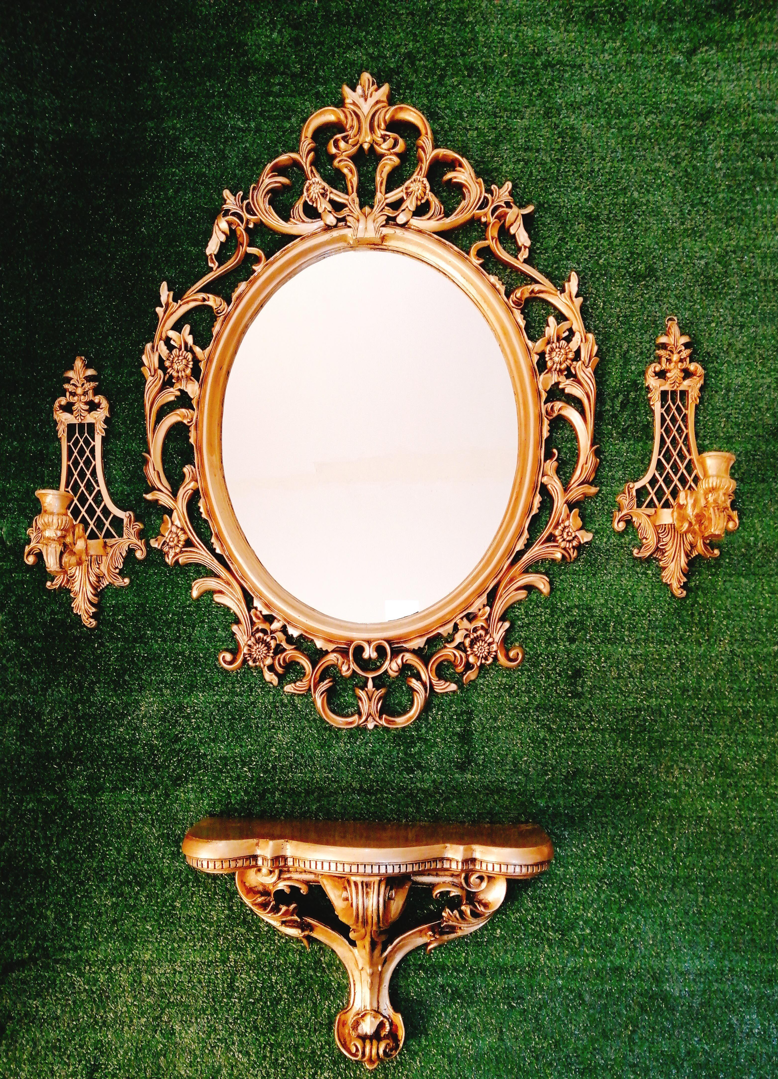 آینه کنسول دیواری