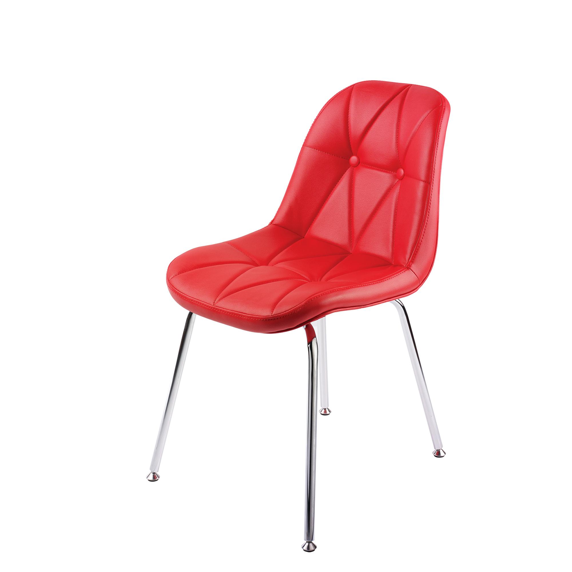 صندلی پایه فلزی لمسه با اسفنج (چهارپایه)مدل SH840