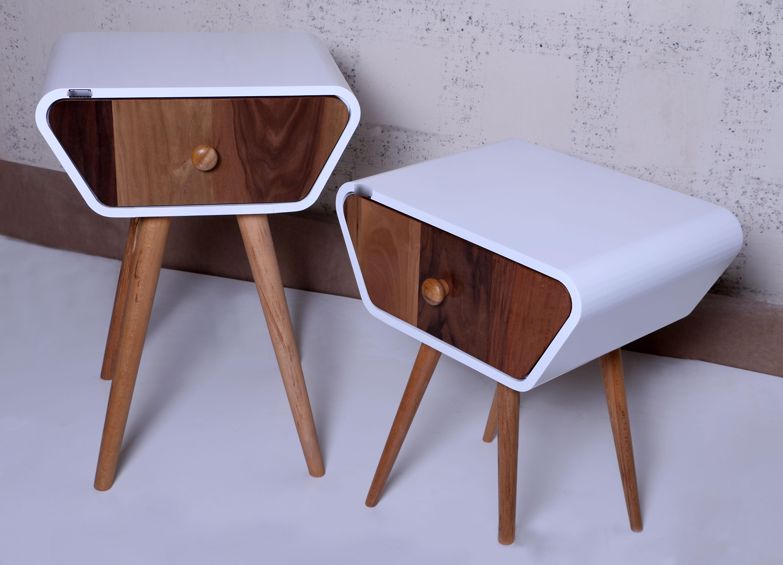میز کنارمبل لوتوس