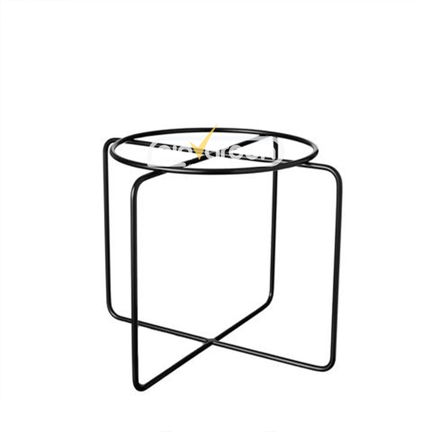 جاگلدانی فلزی مدل نیلوفر