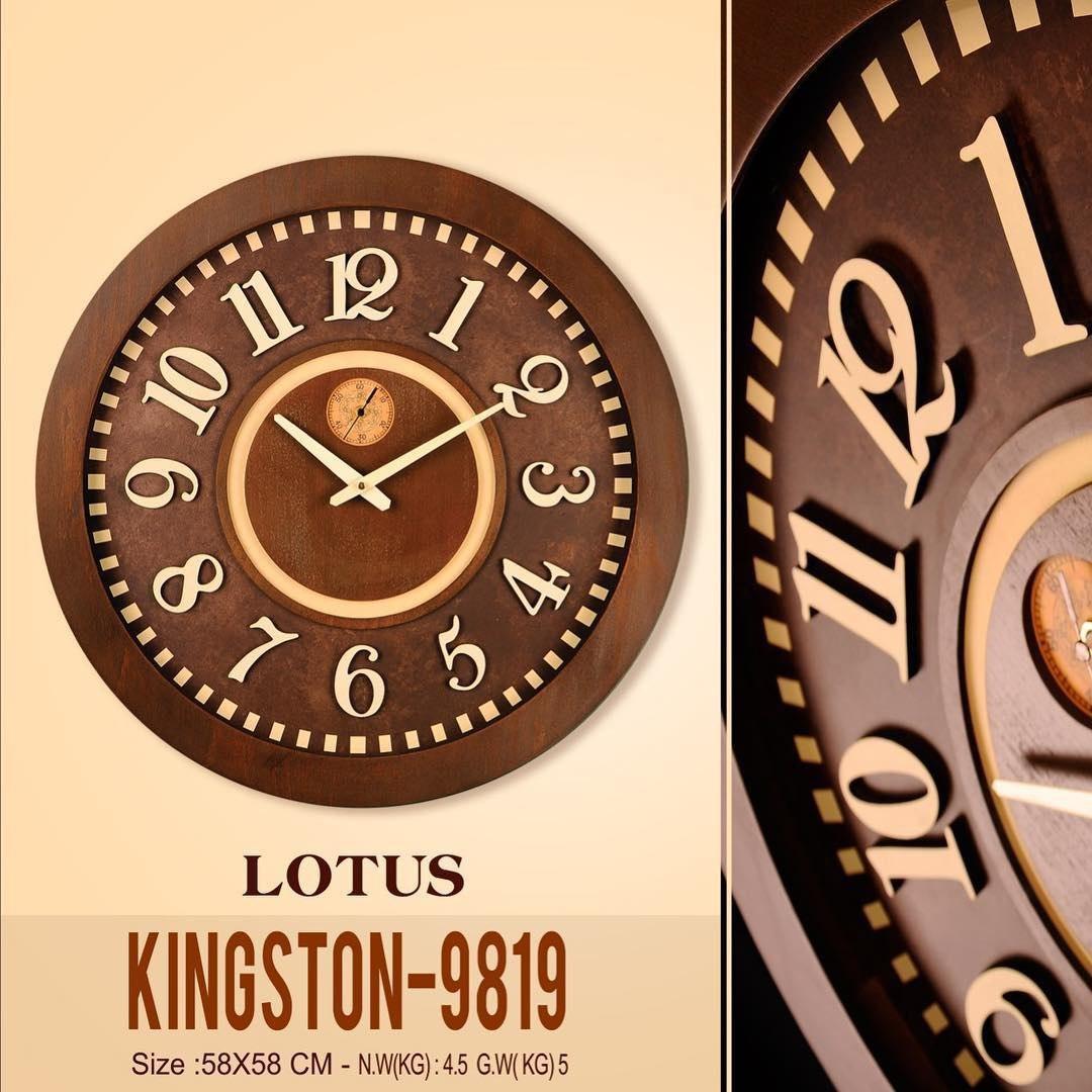 ساعت دیواری لوتوس مدل 9819