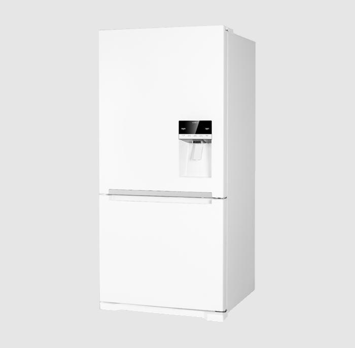 یخچال و فریزر پایین اولتیمو دوو مدل D4BF-0028GW رنگ سفید براق