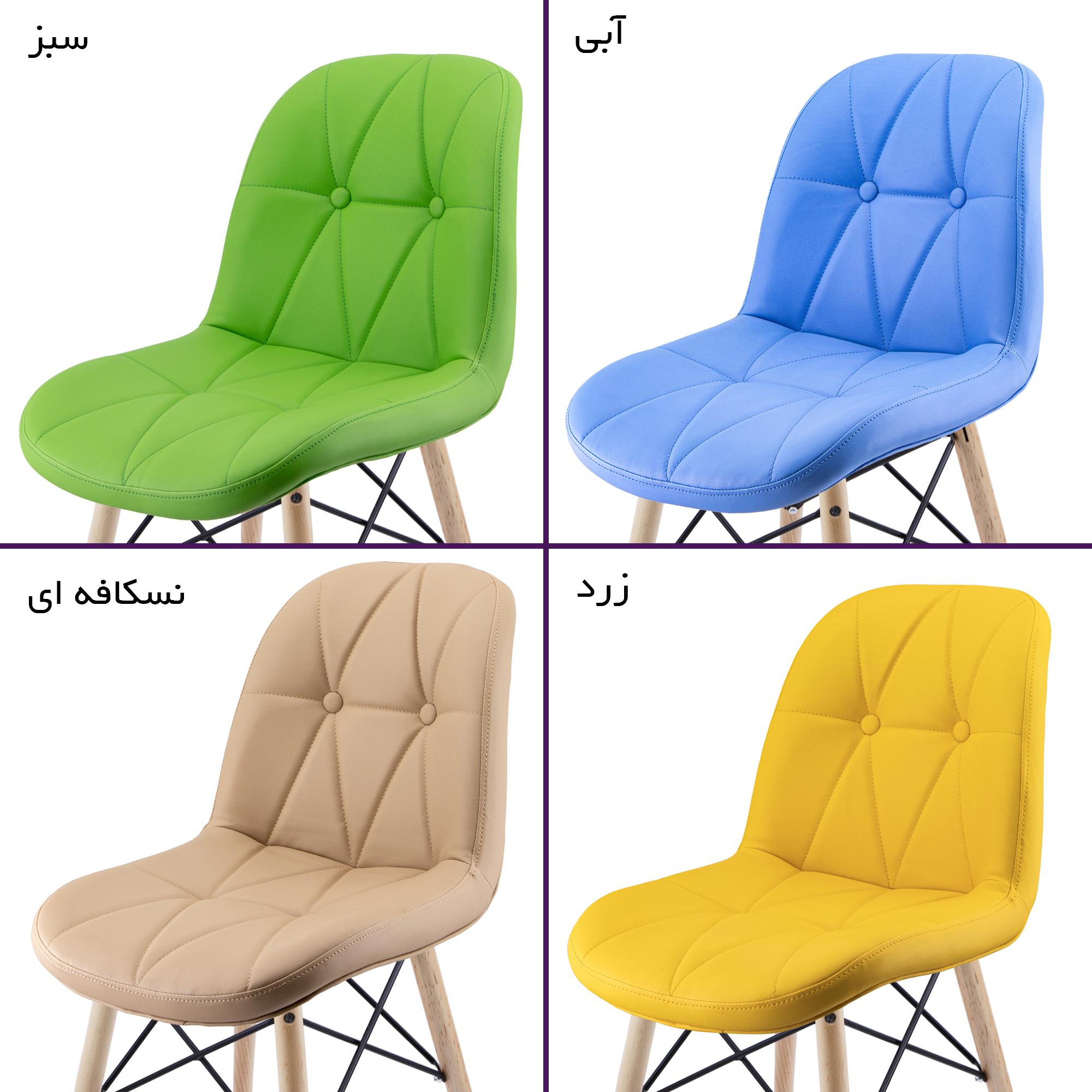 صندلی ناهارخوری لمسه پایه ایفلی (چهارپایه) مدل SH840W