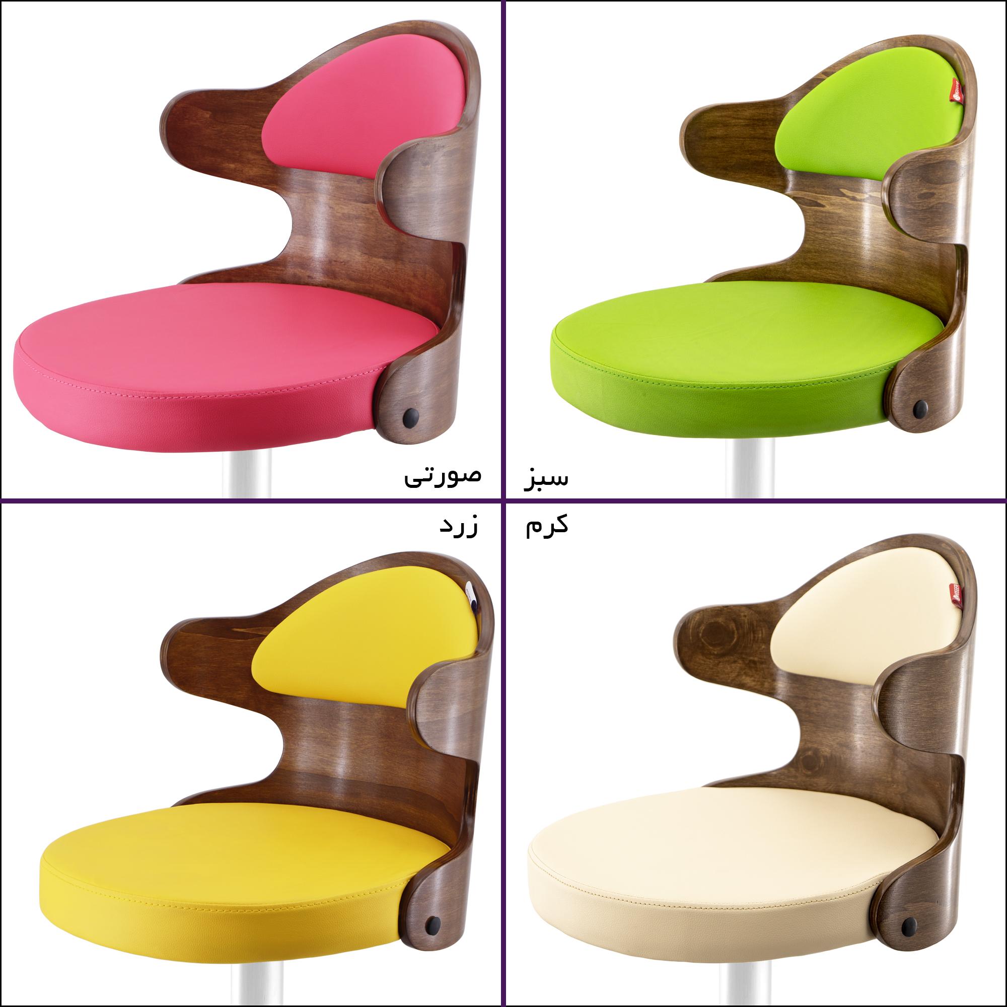 صندلی اپن طرح چوبی مدل BH360