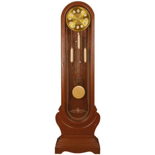 ساعت کنار سالنی گرندفادر مدل FEDERICO کد XL-226 رنگ WALNUT