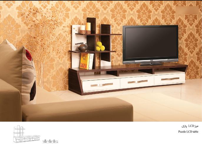 میز تلویزیون پازل