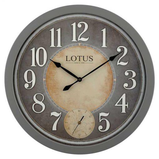 ساعت دیواری چوبی لوتوس مدل BAINBRIDGE کد W-8842