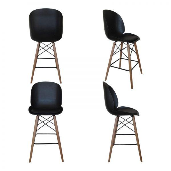 صندلی پایه بلند (اپنی) ایفلی طرح رویا مدل SH103WL
