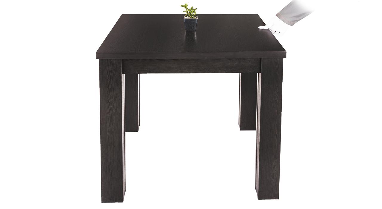 میز ناهار خوری مدل میگون80*80-قهوه ای