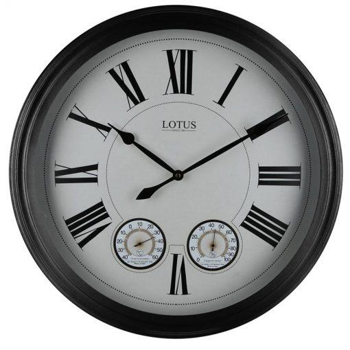 ساعت دیواری فلزی مدل BAKERSFIELD کد ۱۶۰۲۶