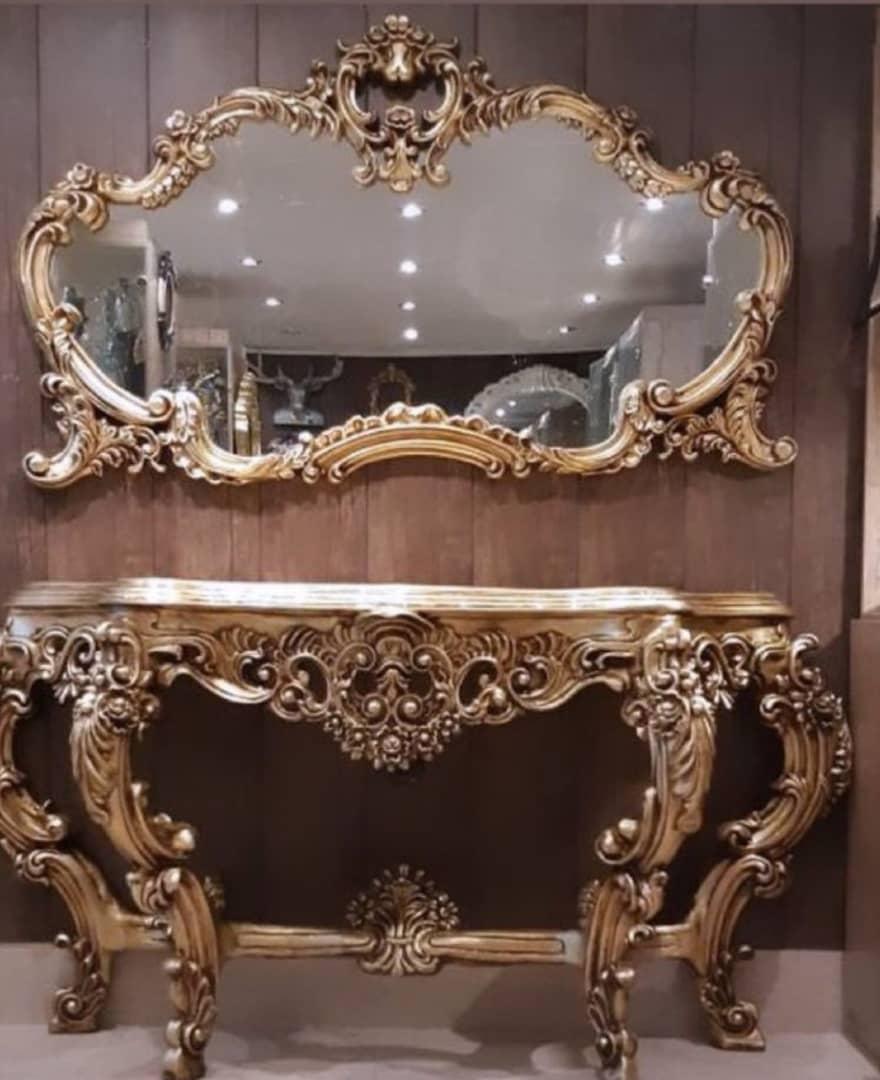 آینه کنسول مدل رزا