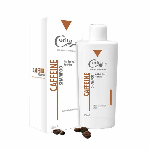 شامپو کافئین سریتا مدل Caffeine