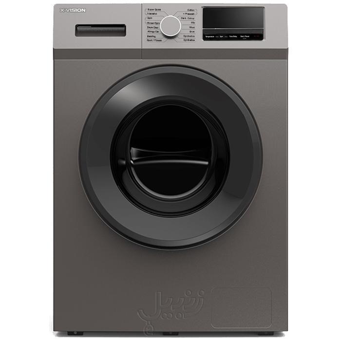 ماشین لباسشویی ایکس ویژن مدل XTW-852 ظرفیت 8.5 کیلوگرم سیلور