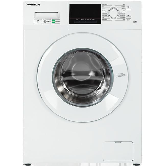 ماشین لباسشویی 7 کیلویی ایکس ویژن مدلXTW-720 سفید