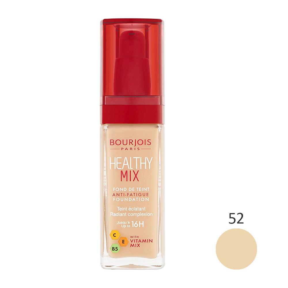 کرم پودر بورژوآ سری Healthy Mix شماره 52
