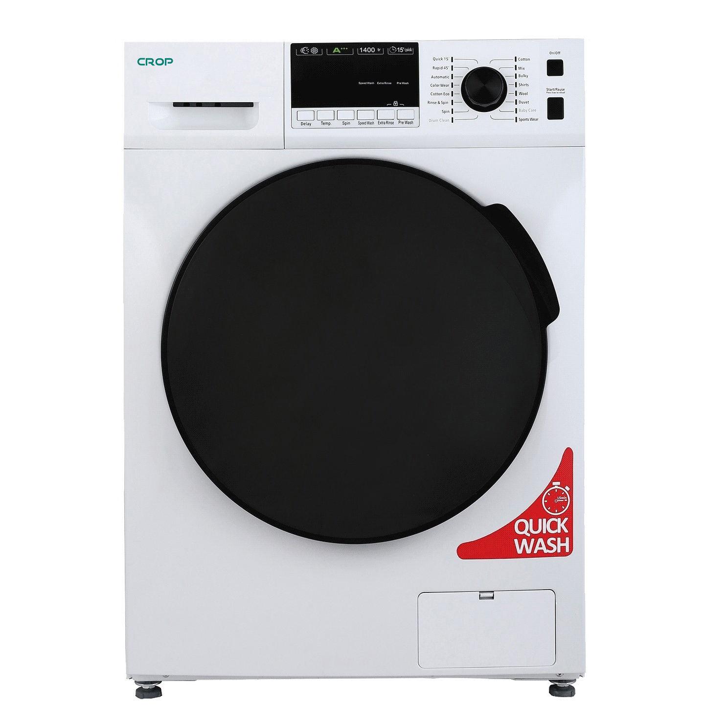 ماشین لباسشویی کروپ مدل WFT 28408 ظرفیت 8 کیلوگرم