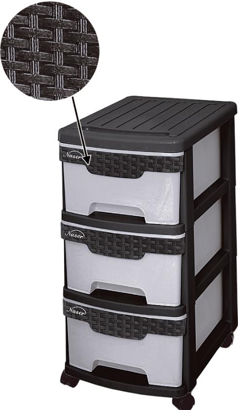 فایل سه طبقه پلاستیکی مدل 653