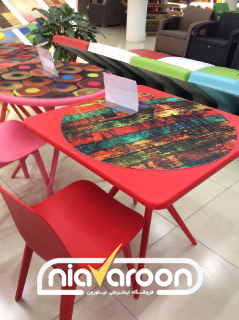 میز تیکا (مربع)
