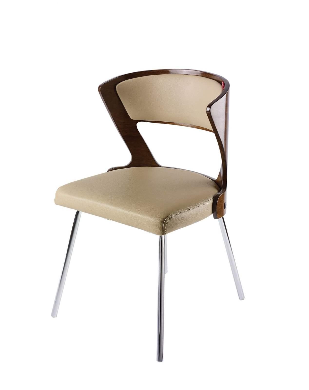 صندلی پایه فلزی آبکاری (چهارپایه) مدل SH380