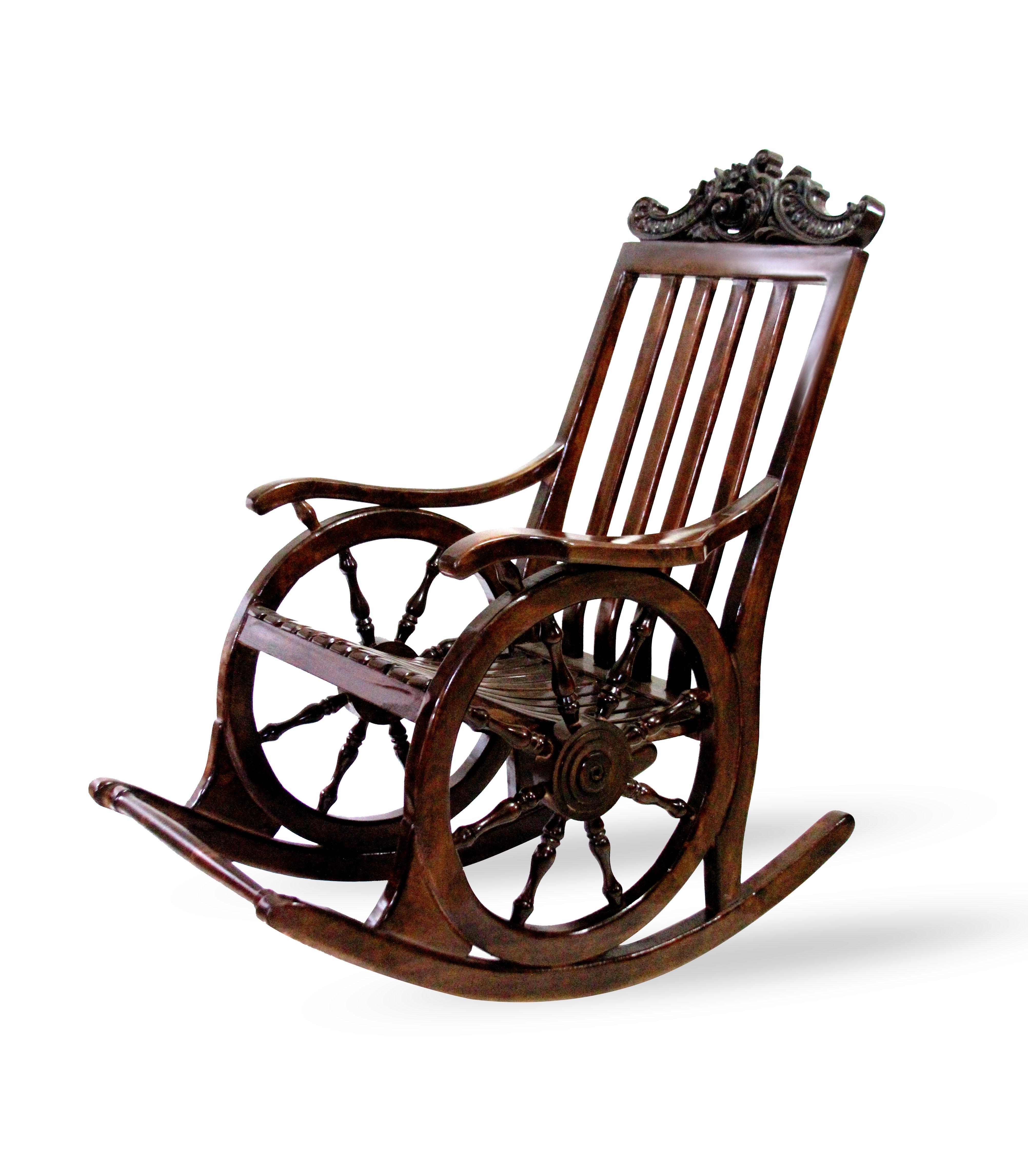صندلی راک سکانی تاج دار