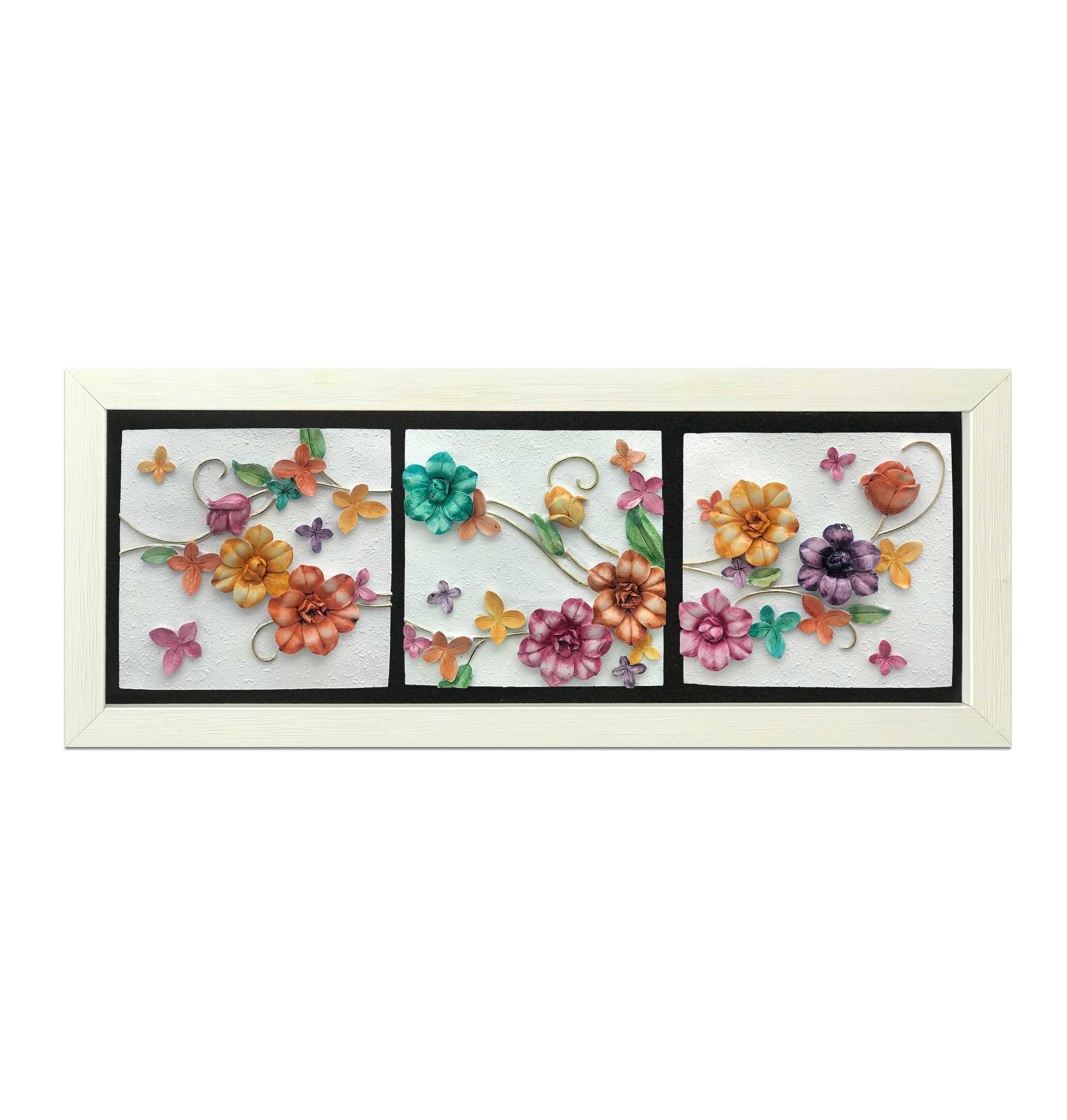 تابلوی گل رنگی 3