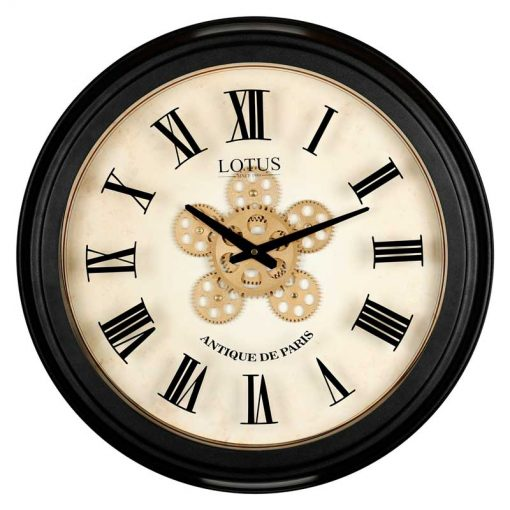 ساعت دیواری چرخ دنده ای مدل LEXINGTON کد GC-300308 رنگ