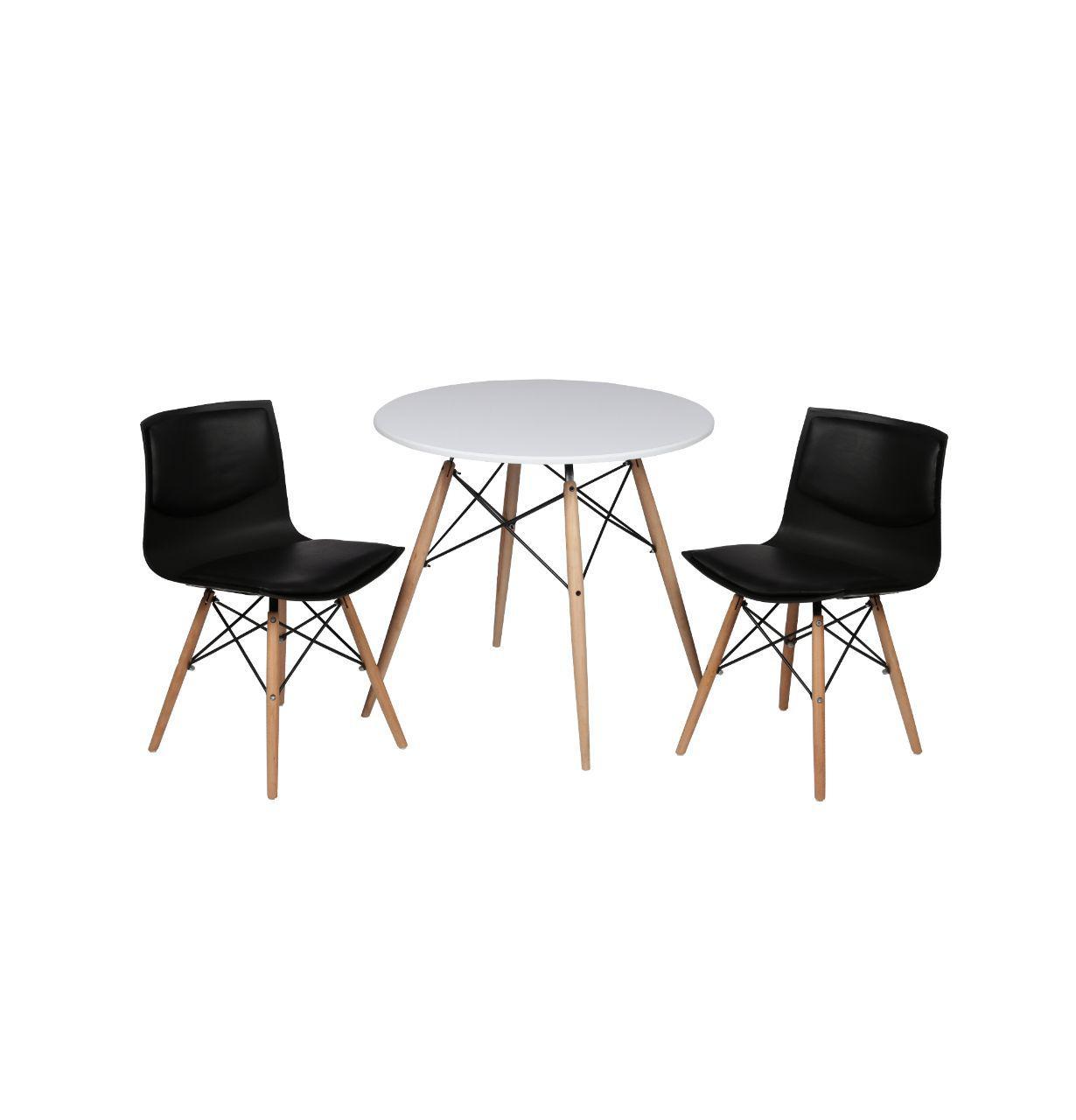 صندلی صدف پایه چوبی