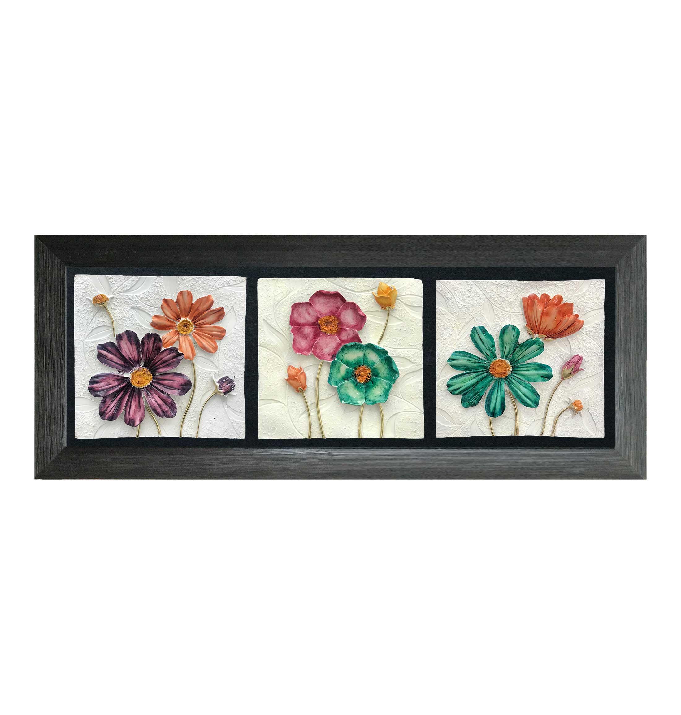 تابلوی گل رنگی 2