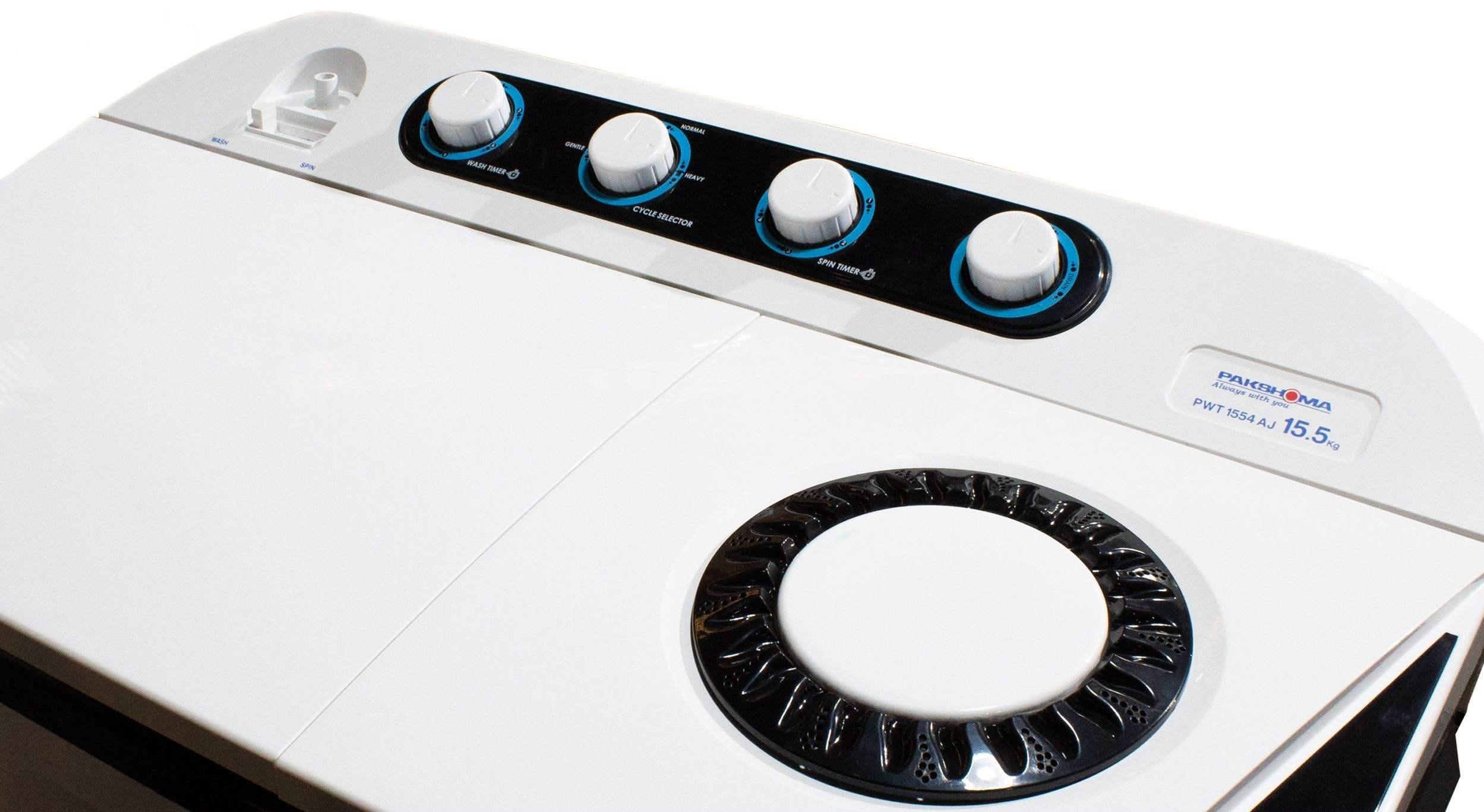 ماشین لباسشويي پاکشوما مدل PWT- 8554B ظرفیت 8.5 کیلوگرم