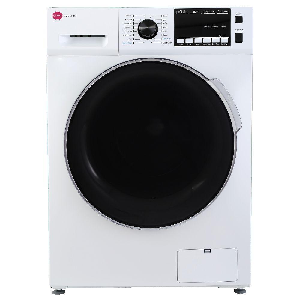 ماشین لباسشویی 7 کیلویی کرال مدل TFW 27412