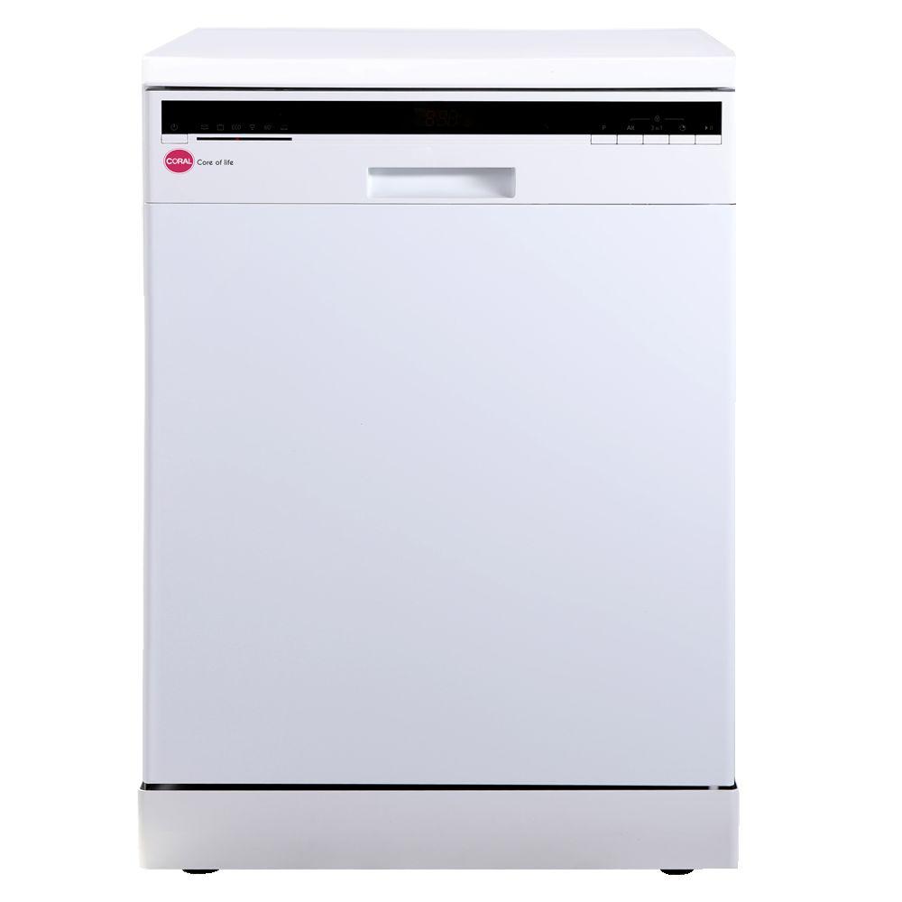 ماشین ظرفشویی کرال 14 نفره 2 سبد مدل 21401 - MD