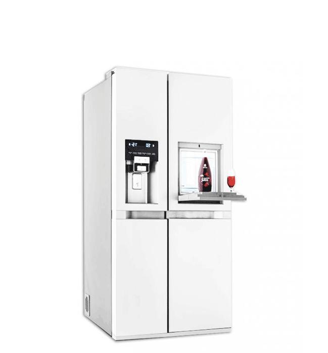 یخچال ساید پالرمو دو درب دوو مدل D4S-3340GW رنگ سفید براق