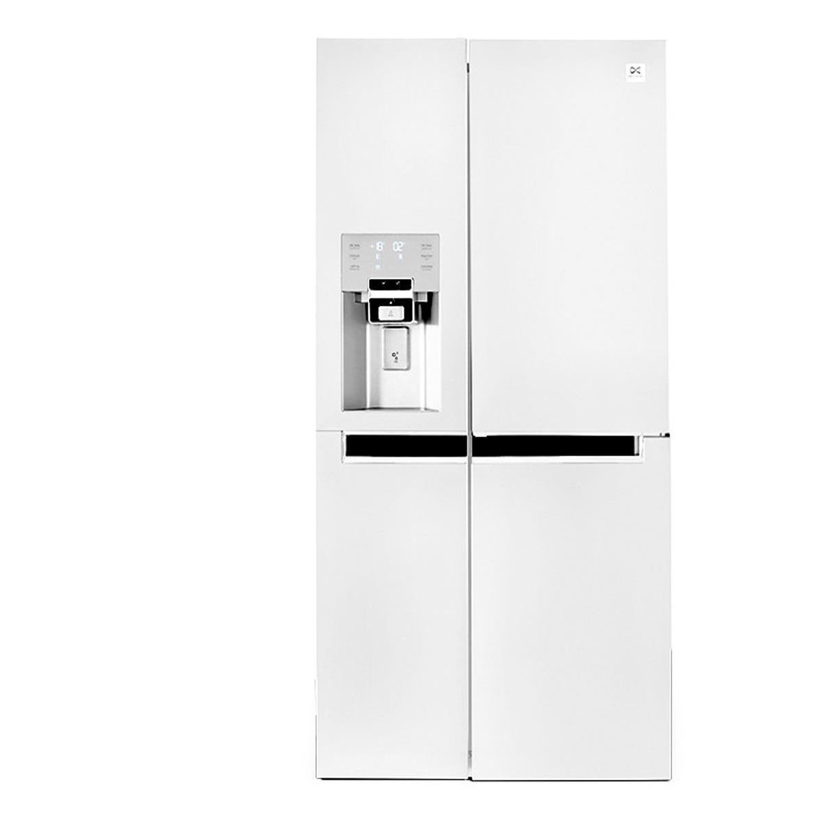 یخچال ساید پرایم سه درب دوو مدل D4S-0036WM رنگ سفید متالیک