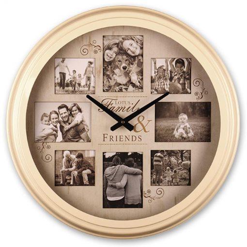 ساعت دیواری فلزی LOTUS مدل ۱۷۰۰B