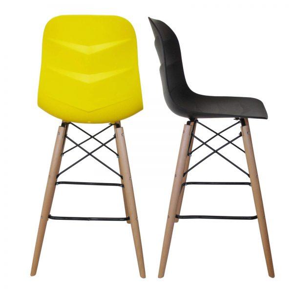 صندلی پایه بلند ایفلی طرح السا مدل SH101WL