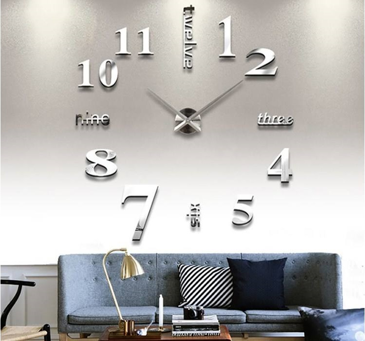 ساعت دیواری مدرن مدل Number