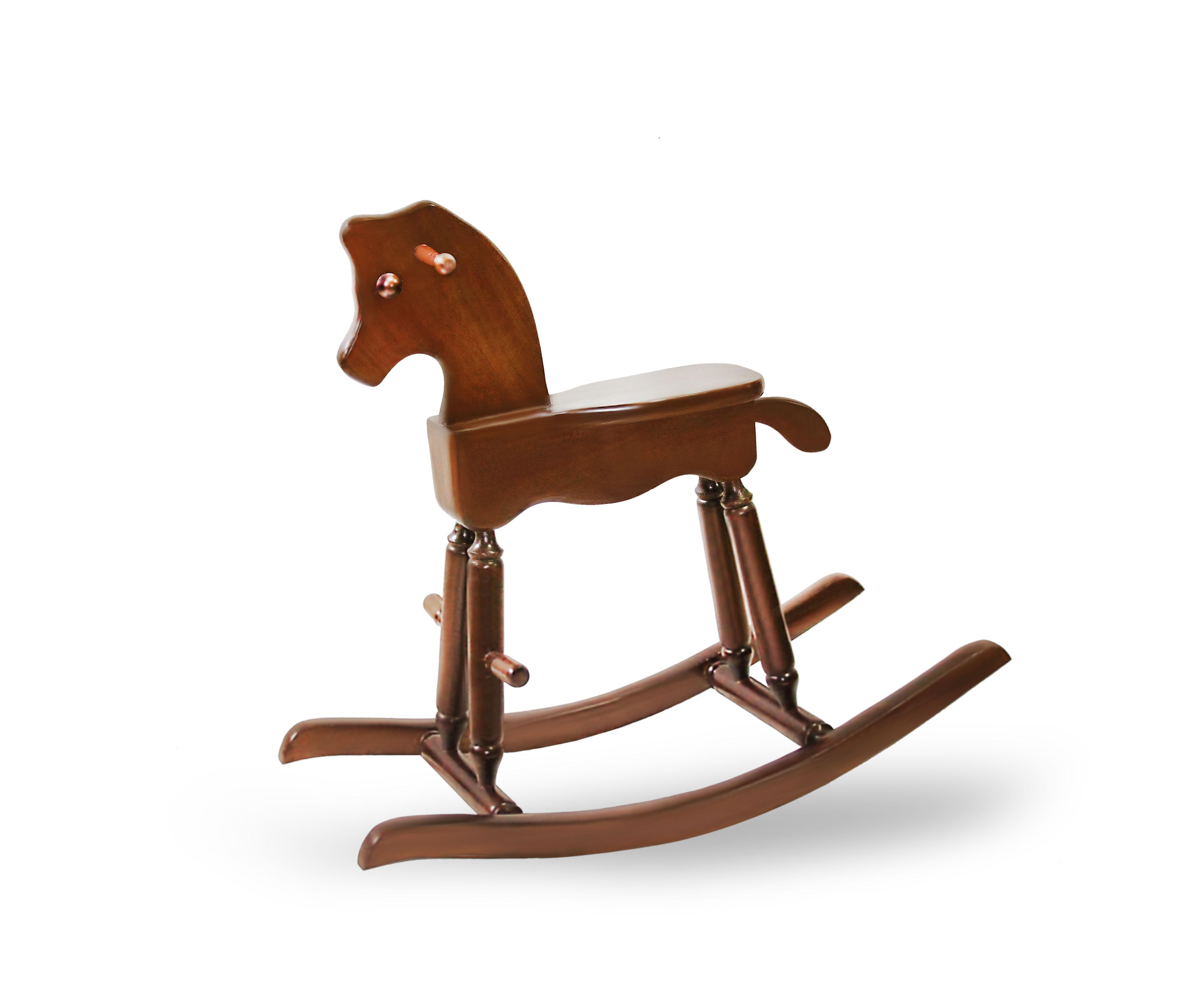 صندلی راک کودک اسبی