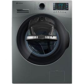 ماشین لباسشویی نقره ای درب از جلو 8 کیلویی اسنوا سری Wash in Wash SWM-84608