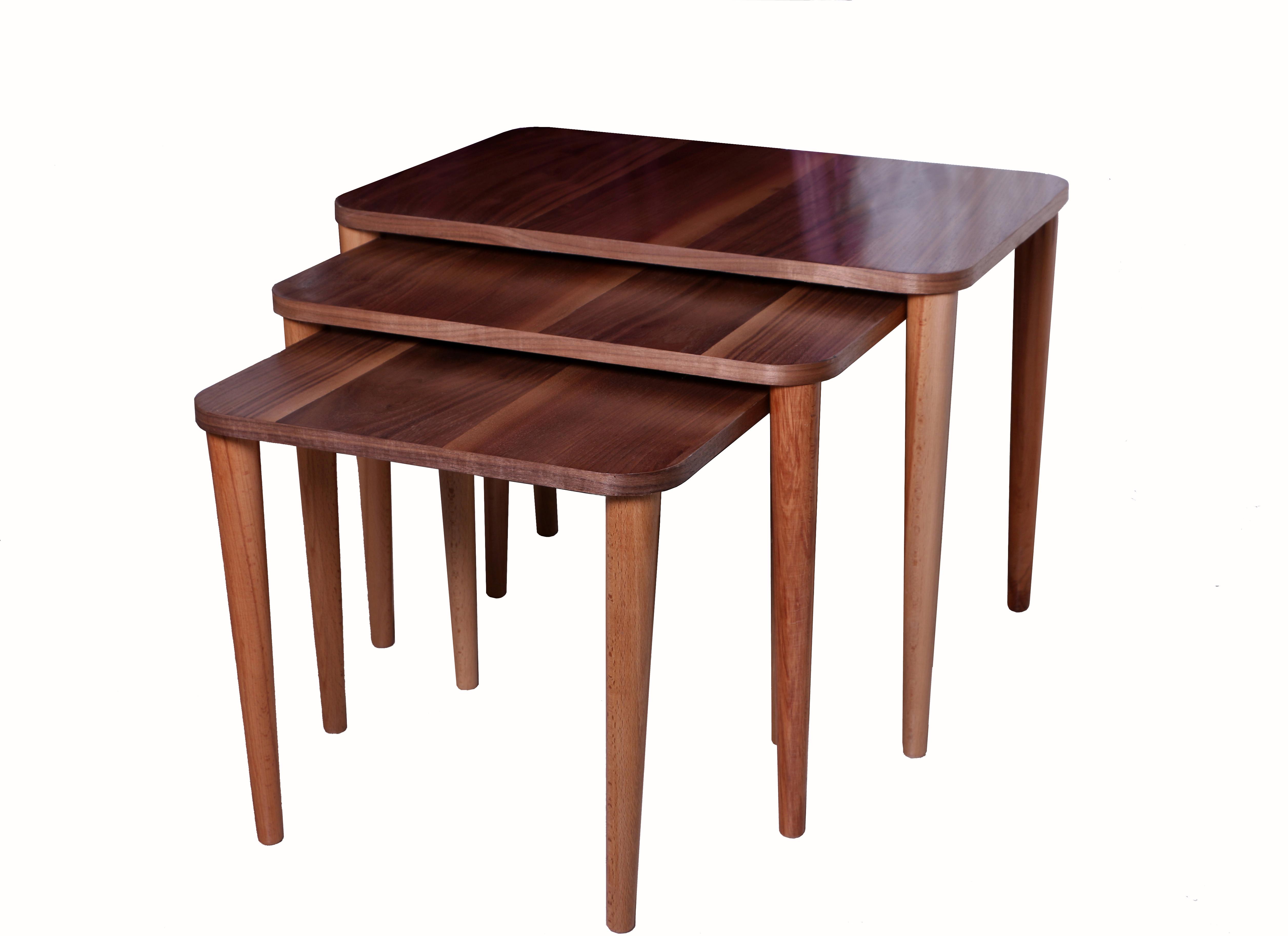 میز عسلی3 تیکه لیزا