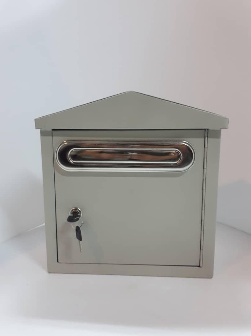 صندوق کلبه ای با دریچه معمول رنگ استیل